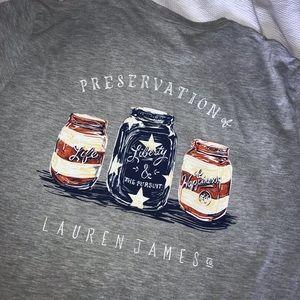 LAUREN JAMES Large T-shirt